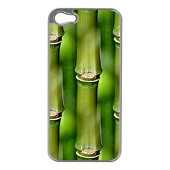 Bamboo Apple Iphone 5 Case (silver) by Siebenhuehner