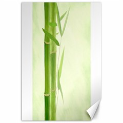 Bamboo Canvas 24  X 36  (unframed) by Siebenhuehner