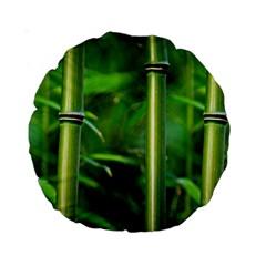 Bamboo 15  Premium Round Cushion  by Siebenhuehner