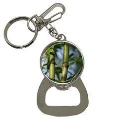 Bamboo Bottle Opener Key Chain by Siebenhuehner