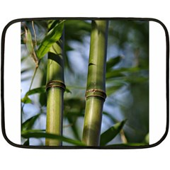 Bamboo Mini Fleece Blanket (two Sided) by Siebenhuehner