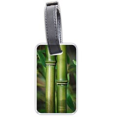 Bamboo Luggage Tag (one Side) by Siebenhuehner