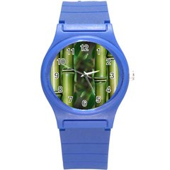 Bamboo Plastic Sport Watch (small) by Siebenhuehner