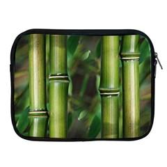 Bamboo Apple Ipad Zippered Sleeve by Siebenhuehner