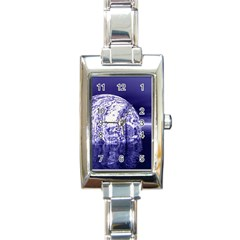 Ball Rectangular Italian Charm Watch by Siebenhuehner