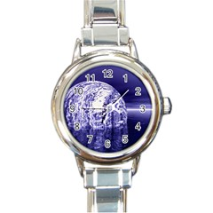 Ball Round Italian Charm Watch by Siebenhuehner