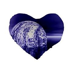 Ball 16  Premium Heart Shape Cushion  by Siebenhuehner