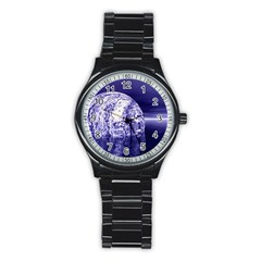Ball Sport Metal Watch (black) by Siebenhuehner