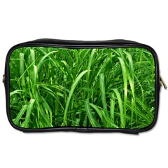 Grass Travel Toiletry Bag (two Sides) by Siebenhuehner