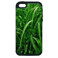 Grass Apple Iphone 5 Hardshell Case (pc+silicone) by Siebenhuehner
