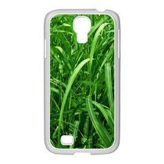 Grass Samsung Galaxy S4 I9500/ I9505 Case (white) by Siebenhuehner
