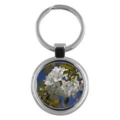 Cherry Blossom Key Chain (round) by Siebenhuehner