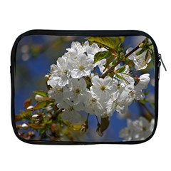 Cherry Blossom Apple Ipad Zippered Sleeve by Siebenhuehner