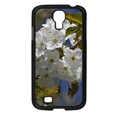 Cherry Blossom Samsung Galaxy S4 I9500/ I9505 Case (black) by Siebenhuehner
