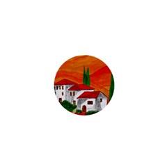 Mediteran 1  Mini Button Magnet by Siebenhuehner