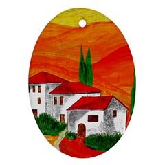 Mediteran Oval Ornament by Siebenhuehner