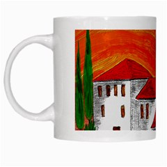 Mediteran White Coffee Mug by Siebenhuehner