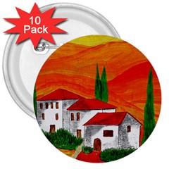 Mediteran 3  Button (10 Pack) by Siebenhuehner