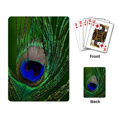 Peacock Playing Cards Single Design by Siebenhuehner