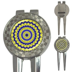 Mandala Golf Pitchfork & Ball Marker by Siebenhuehner