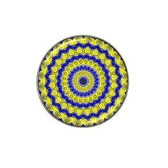 Mandala Golf Ball Marker (for Hat Clip) by Siebenhuehner