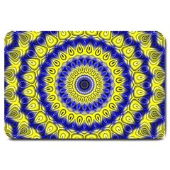 Mandala Large Door Mat by Siebenhuehner