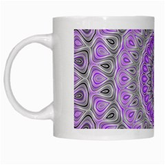 Mandala White Coffee Mug by Siebenhuehner