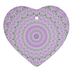Mandala Heart Ornament by Siebenhuehner