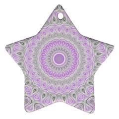 Mandala Star Ornament by Siebenhuehner