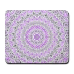 Mandala Large Mouse Pad (rectangle) by Siebenhuehner
