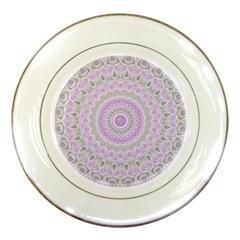 Mandala Porcelain Display Plate by Siebenhuehner