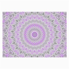 Mandala Glasses Cloth (large) by Siebenhuehner