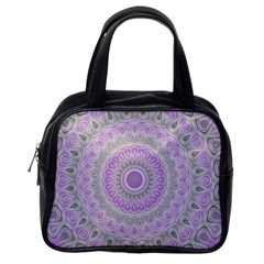 Mandala Classic Handbag (one Side) by Siebenhuehner