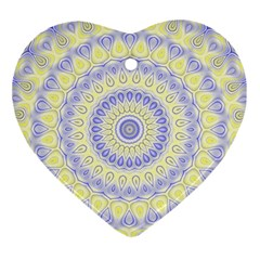 Mandala Heart Ornament by Siebenhuehner