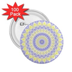 Mandala 2 25  Button (100 Pack) by Siebenhuehner