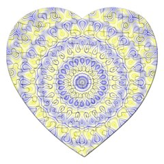 Mandala Jigsaw Puzzle (heart) by Siebenhuehner