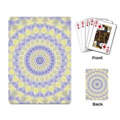Mandala Playing Cards Single Design by Siebenhuehner