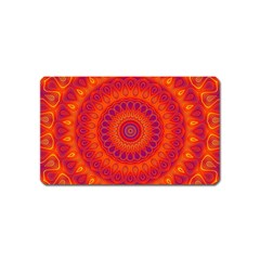 Mandala Magnet (name Card) by Siebenhuehner