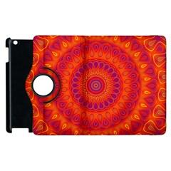 Mandala Apple Ipad 3/4 Flip 360 Case by Siebenhuehner