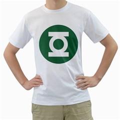 Green Lantern Mens  T Shirt (white)