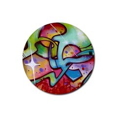 Graffity Drink Coasters 4 Pack (round) by Siebenhuehner