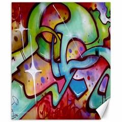 Graffity Canvas 8  X 10  (unframed) by Siebenhuehner