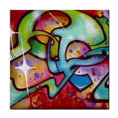 Graffity Face Towel by Siebenhuehner