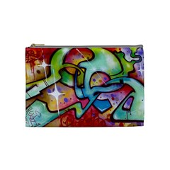 Graffity Cosmetic Bag (medium) by Siebenhuehner