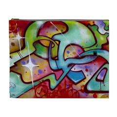 Graffity Cosmetic Bag (xl) by Siebenhuehner