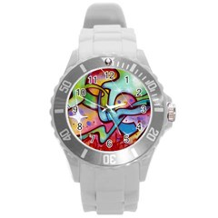 Graffity Plastic Sport Watch (large) by Siebenhuehner