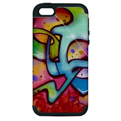 Graffity Apple Iphone 5 Hardshell Case (pc+silicone) by Siebenhuehner