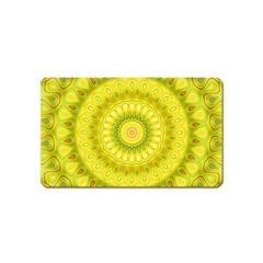 Mandala Magnet (name Card) by Siebenhuehner