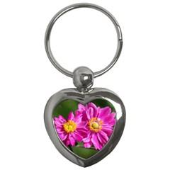 Flower Key Chain (heart) by Siebenhuehner
