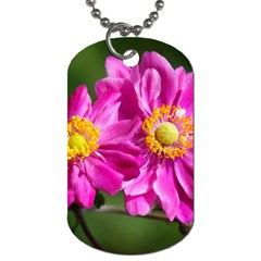 Flower Dog Tag (one Sided) by Siebenhuehner